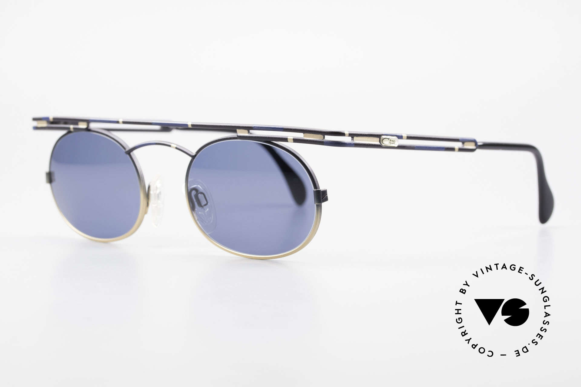 Cazal 761 Original Old Cazal Sunglasses, top-notch craftsmanship (frame 'made in Germany'), Made for Men and Women