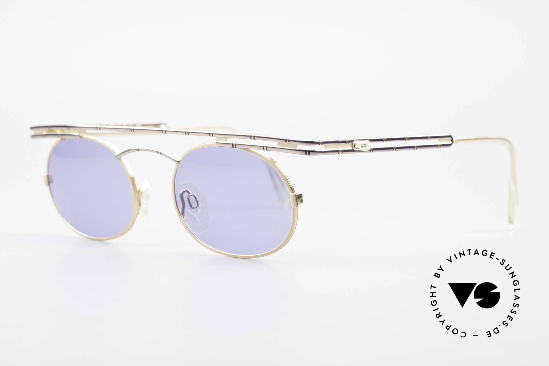 Cazal 761 Old 90's Original Sunglasses, top-notch craftsmanship (frame 'made in Germany'), Made for Men and Women