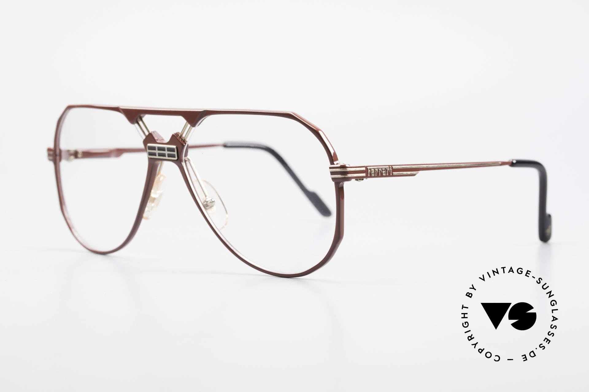 Ferrari F23 90's Ferrari Formula 1 Glasses, noble frame design (hybrid between sport & chic), Made for Men