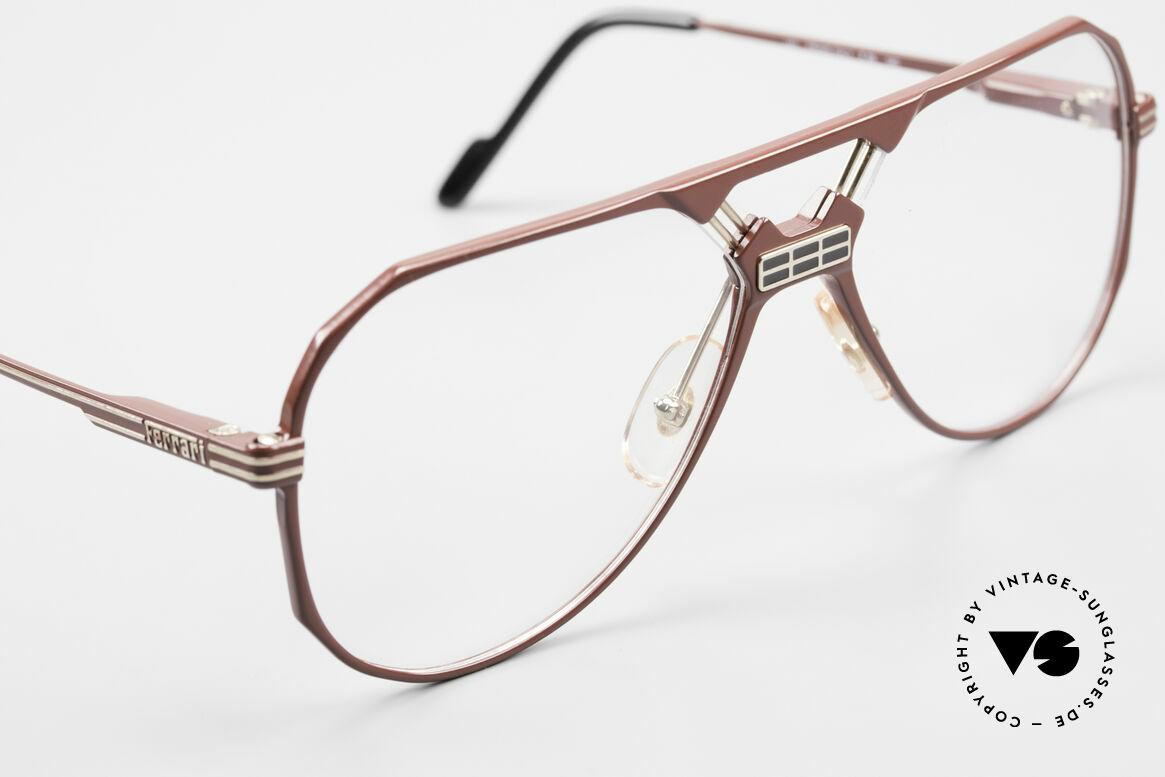 Ferrari F23 90's Ferrari Formula 1 Glasses, never worn (like all our vintage Ferrari eyeglasses), Made for Men
