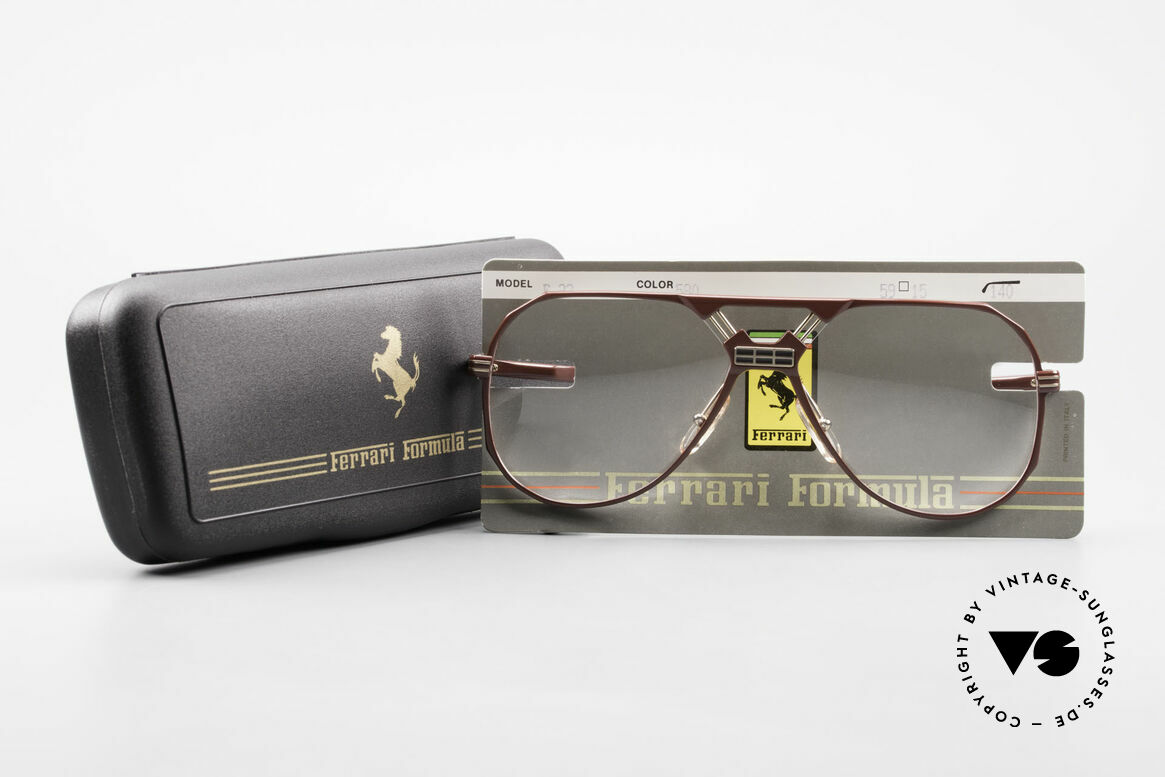 Ferrari F23 90's Ferrari Formula 1 Glasses, Size: large, Made for Men