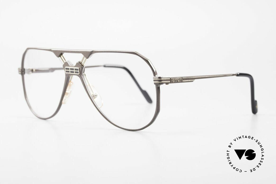 Ferrari F23 Formula 1 Ferrari Glasses 90's, noble frame design (hybrid between sport & chic), Made for Men