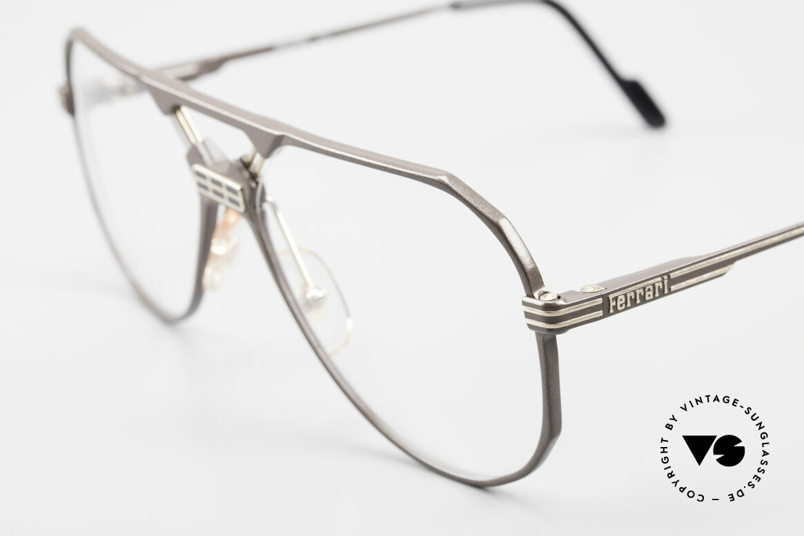 Ferrari F23 Formula 1 Ferrari Glasses 90's, striking bridge; size 59/15, 140, F23, in color 700, Made for Men