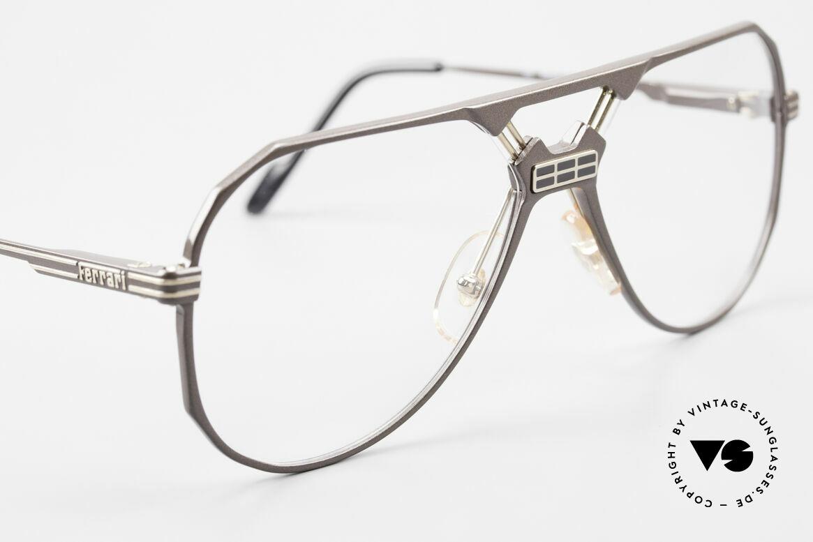 Ferrari F23 Formula 1 Ferrari Glasses 90's, never worn (like all our vintage Ferrari eyeglasses), Made for Men