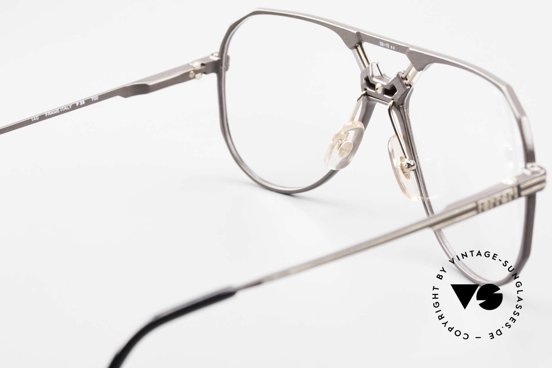 Ferrari F23 Formula 1 Ferrari Glasses 90's, NO retro frame, but a rare 30 years old ORIGINAL, Made for Men