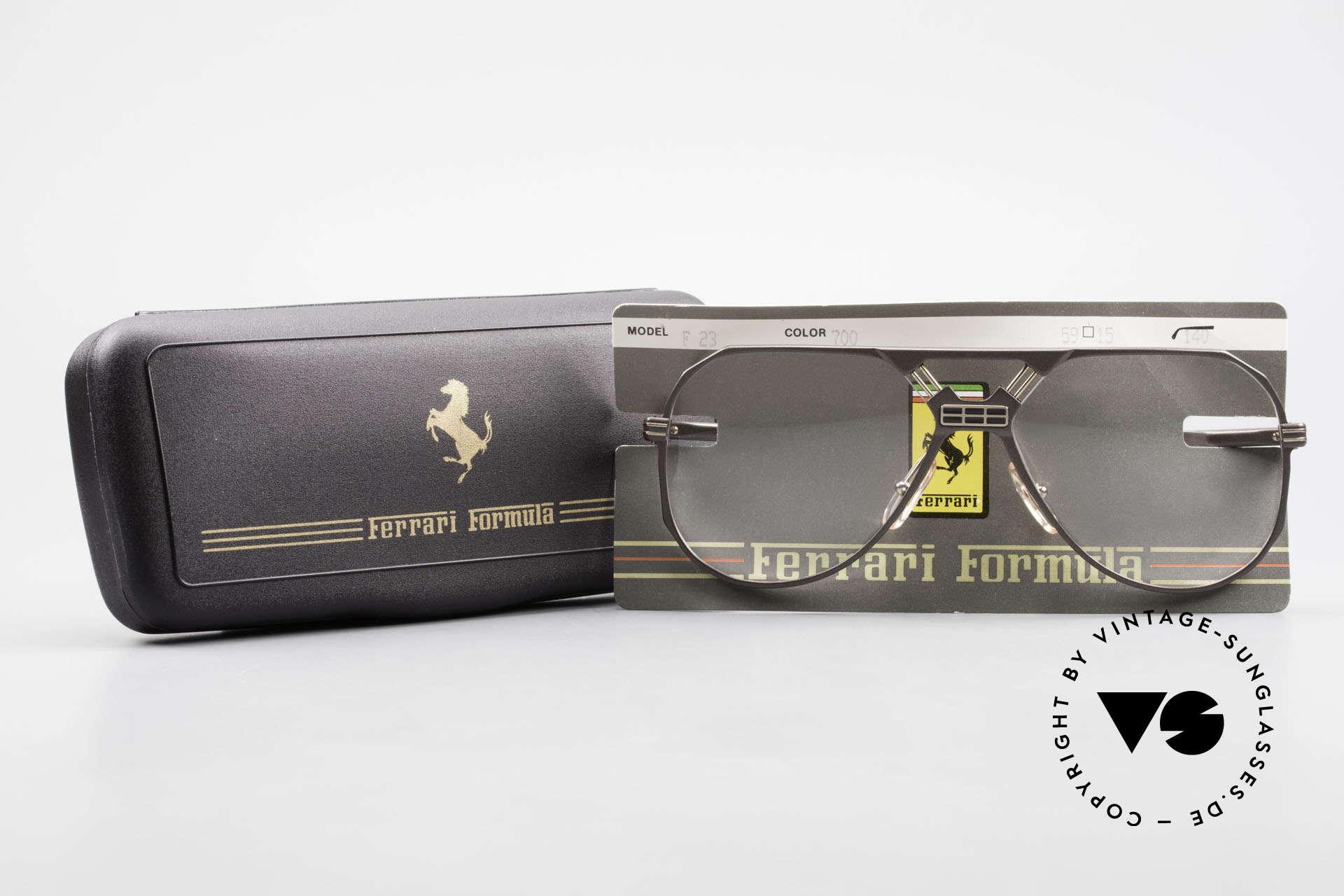Ferrari F23 Formula 1 Ferrari Glasses 90's, Size: large, Made for Men
