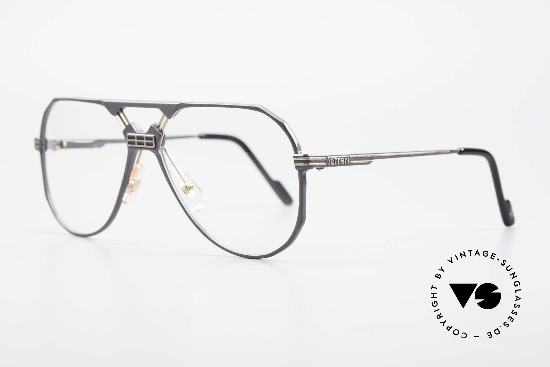 Ferrari F23 Formula 1 Ferrari Glasses Men, noble frame design (hybrid between sport & chic), Made for Men