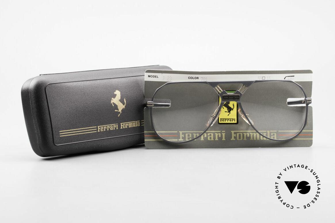 Ferrari F23 Formula 1 Ferrari Glasses Men, Size: large, Made for Men
