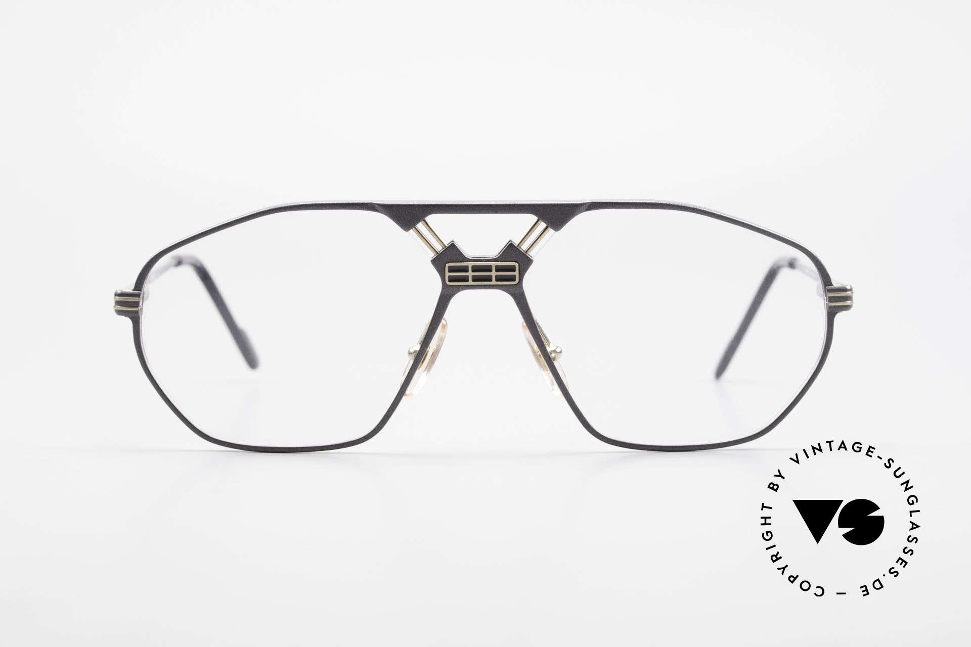 Ferrari F22 Formula 1 Vintage Glasses 90s, striking frame construction (very interesting bridge), Made for Men