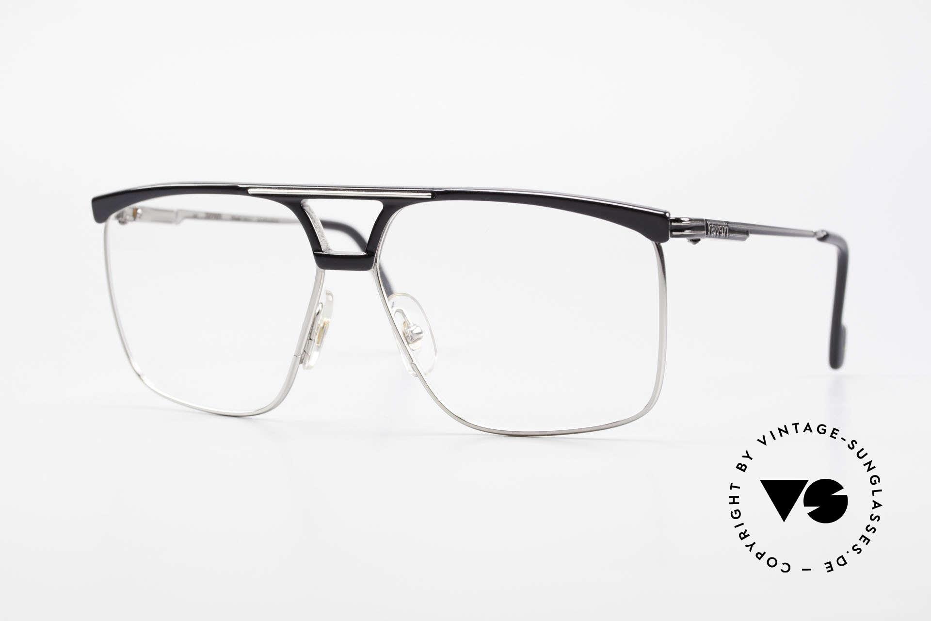 Ferrari F35 Large Vintage Men's Eyeglasses, very masculine Ferrari FORMULA 1 vintage eyeglasses, Made for Men