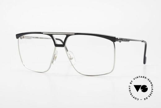 Ferrari F35 Large Vintage Men's Eyeglasses Details