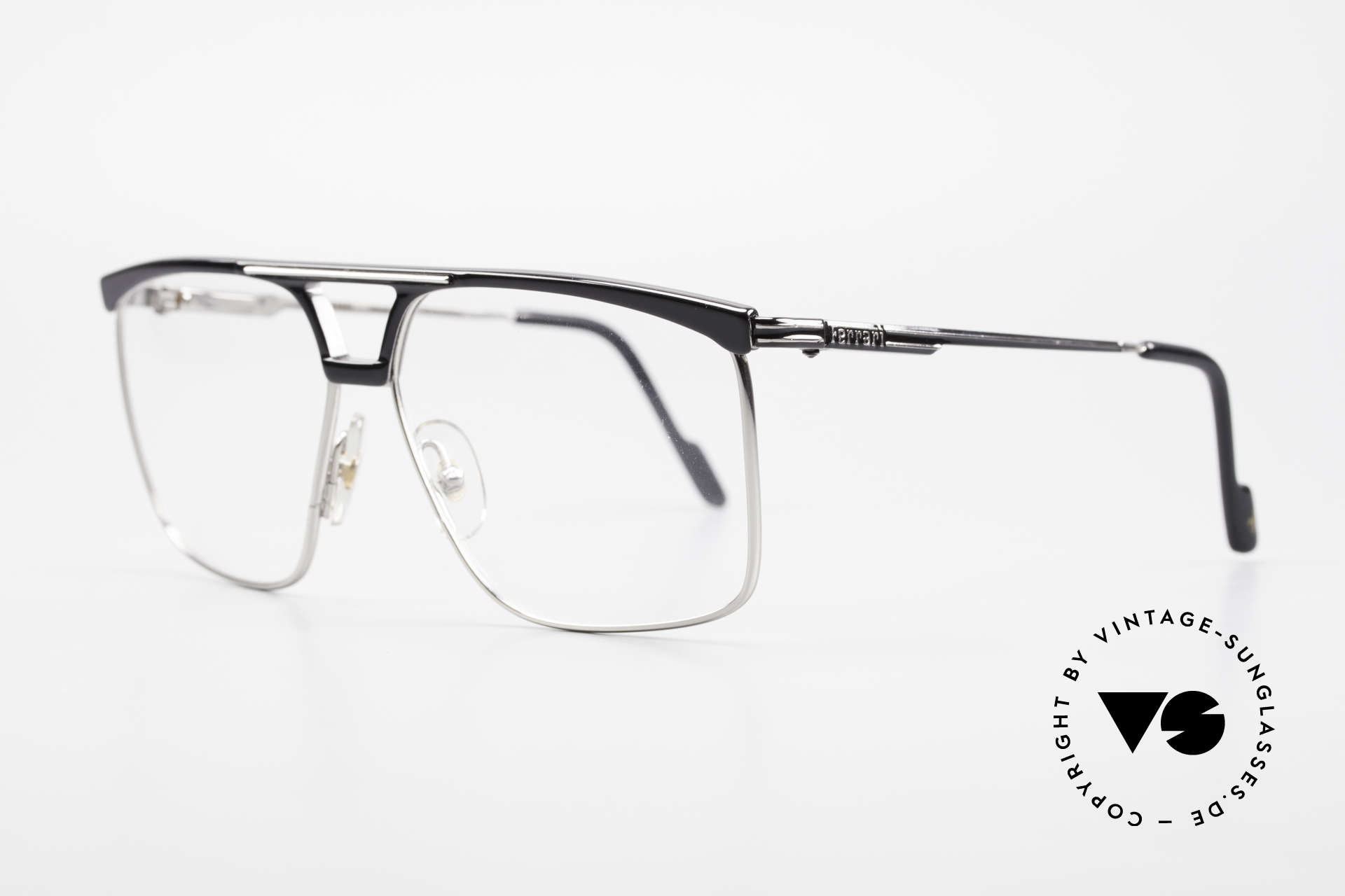 Ferrari F35 Large Vintage Men's Eyeglasses, high-end Alutanium frame with flexible spring hinges, Made for Men