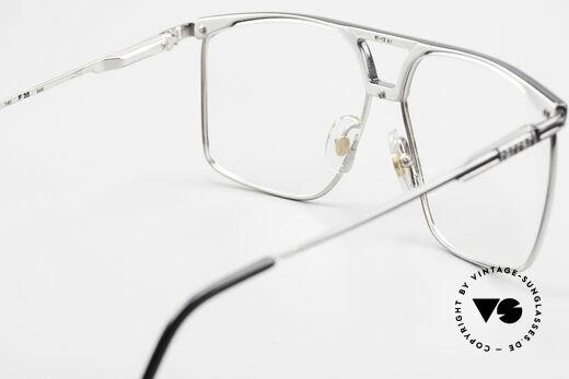 Ferrari F35 Large Vintage Men's Eyeglasses, top-notch quality; large size 61-13, 140, F35, col 34E, Made for Men