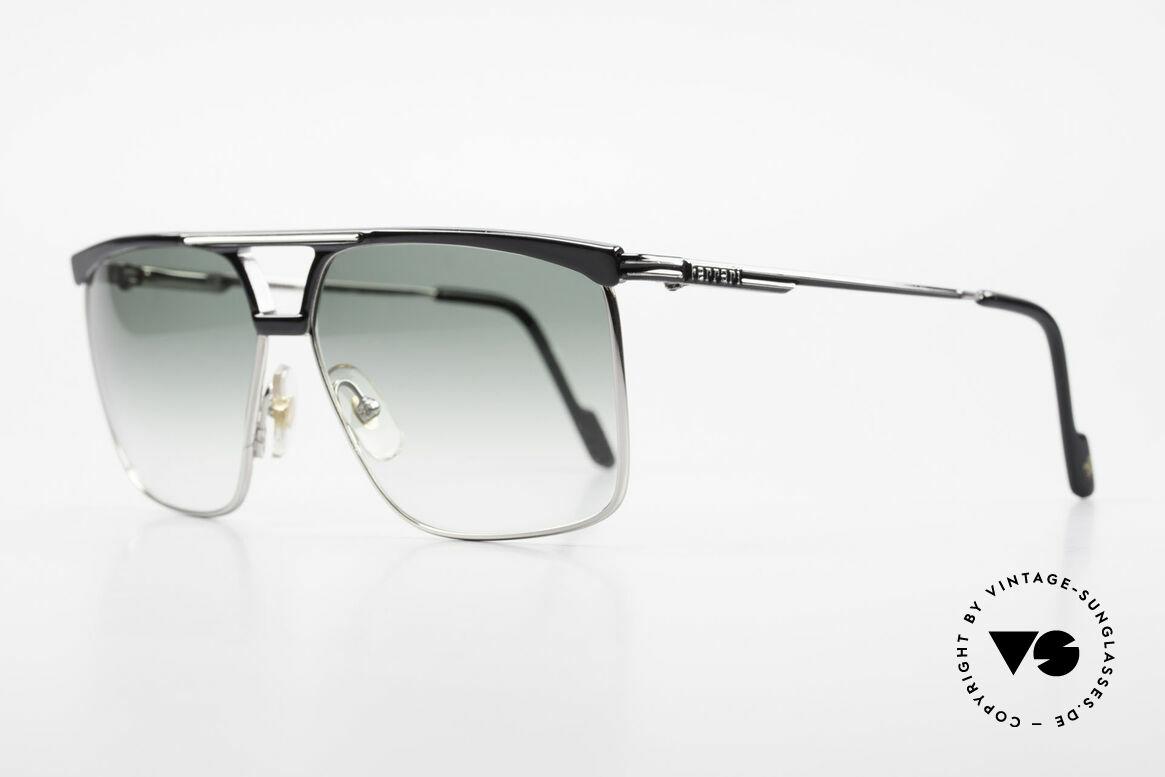 Ferrari F35 Alutanium Sunglasses Large, high-end Alutanium frame with flexible spring hinges, Made for Men
