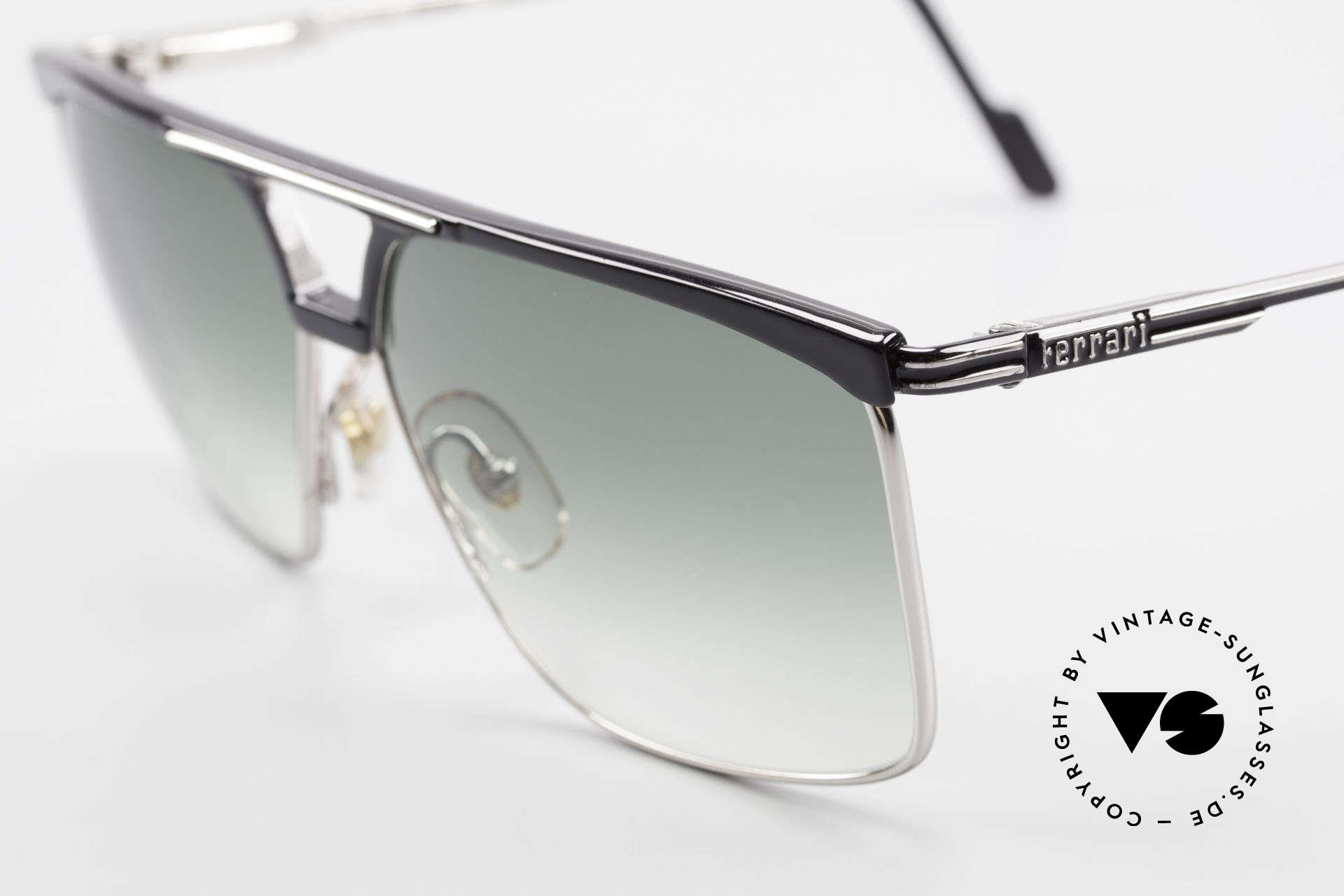 Ferrari F35 Alutanium Sunglasses Large, never worn (like all our RARE vintage Ferrari shades), Made for Men