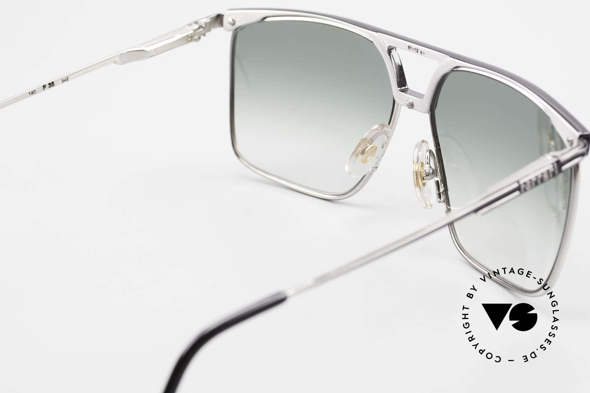 Ferrari F35 Alutanium Sunglasses Large, top-notch quality; large size 61-13, 140, F35, col 34E, Made for Men