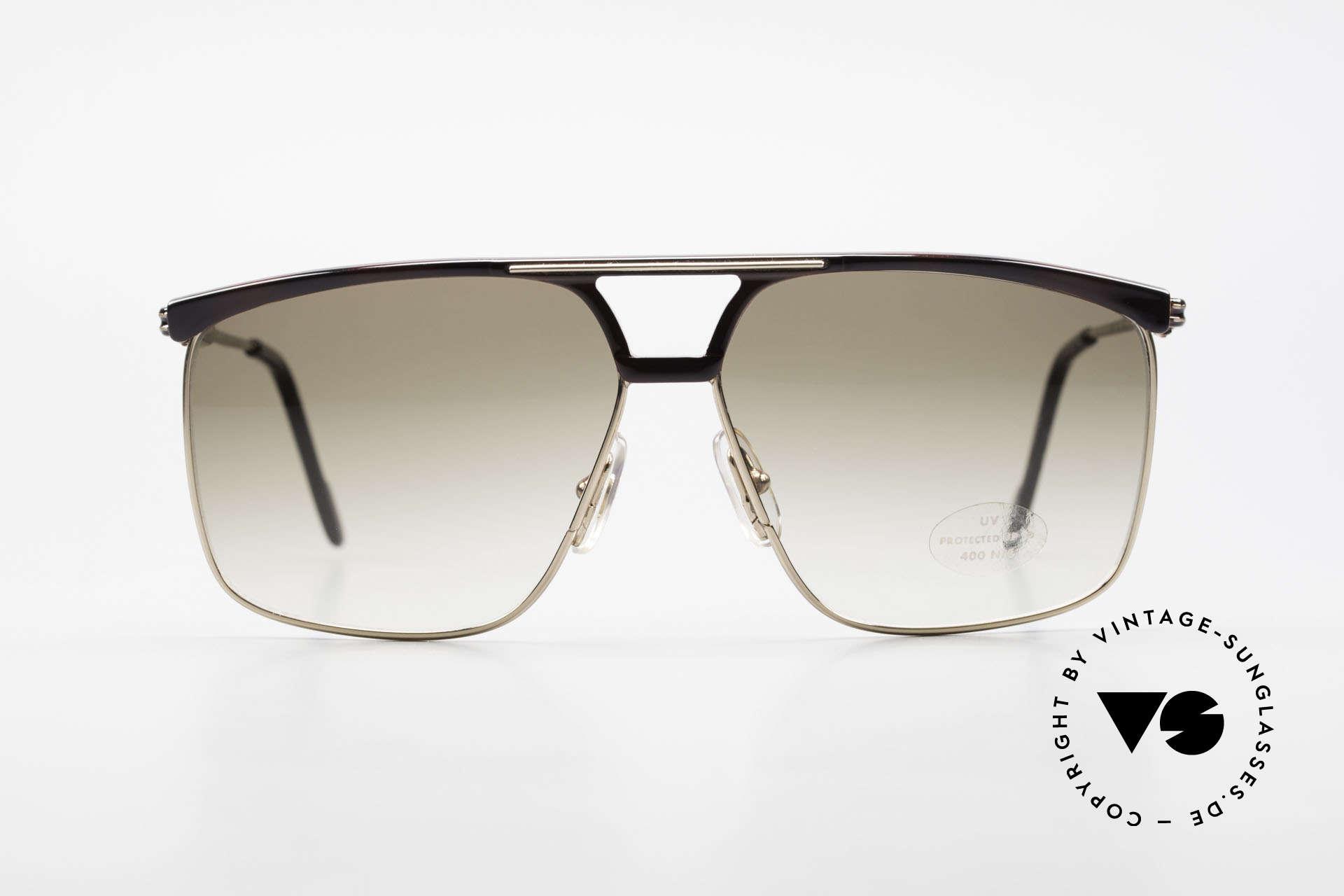 Ferrari F35 Alutanium Sunglasses X-Large, finest quality & superior frame finishing; true vintage, Made for Men