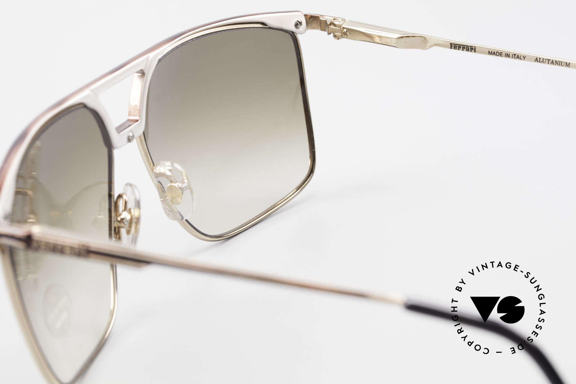 Ferrari F35 Alutanium Sunglasses X-Large, top-notch quality; X-large size 64-13, 140, F35, col 33E, Made for Men