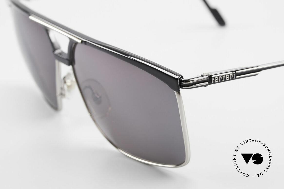 Ferrari F35 X-Large Mirrored Sunglasses, never worn (like all our RARE vintage Ferrari shades), Made for Men