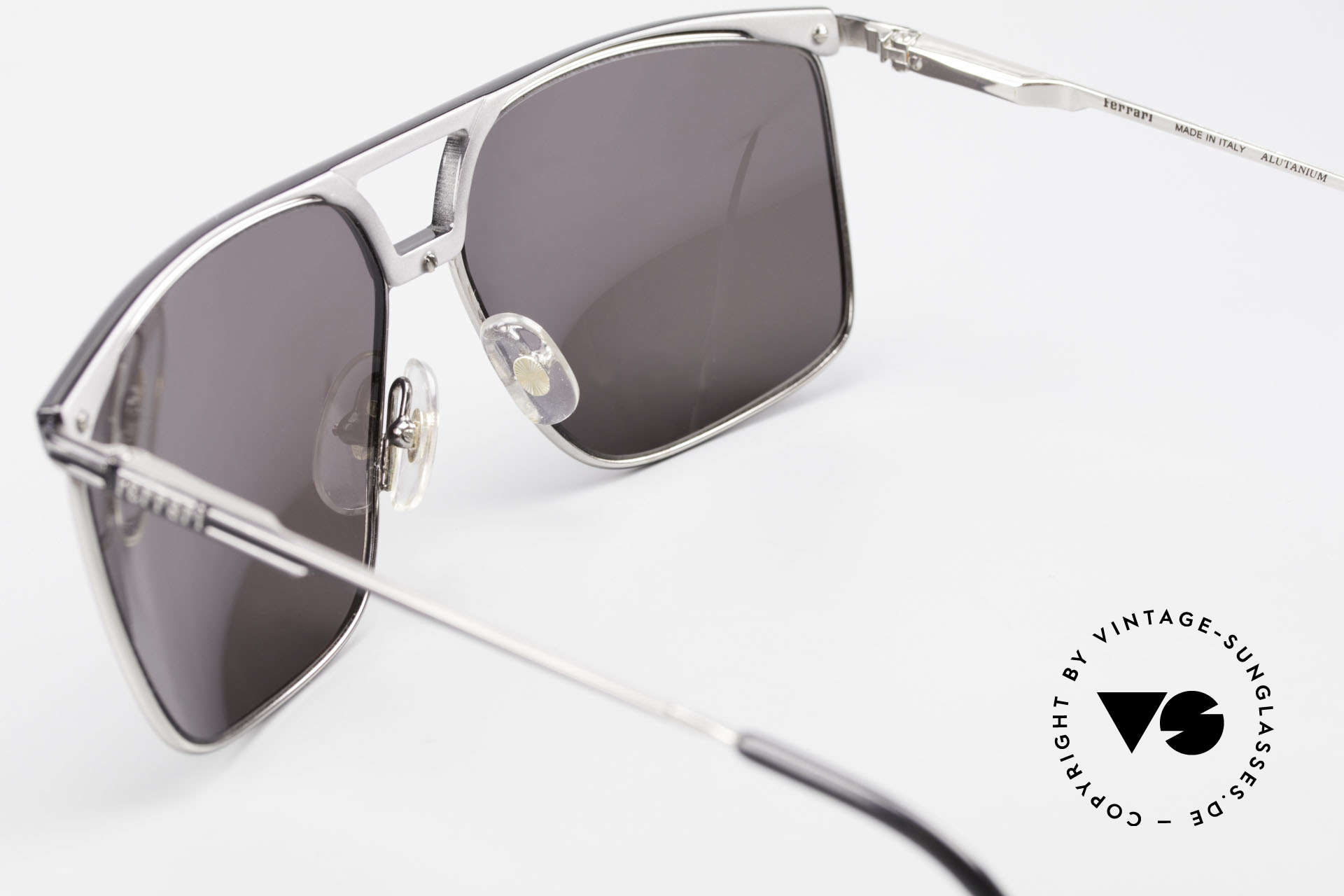 Ferrari F35 X-Large Mirrored Sunglasses, Size: extra large, Made for Men