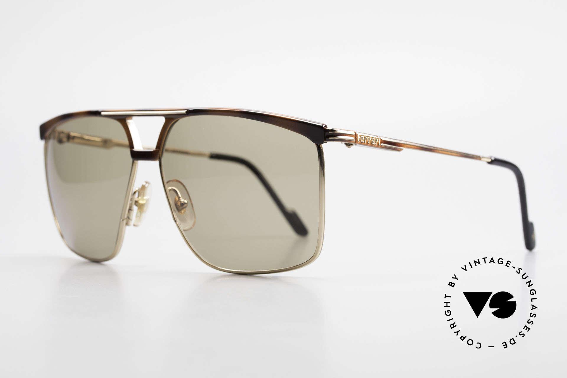 Ferrari F35 X-Large Sunglasses Alutanium, high-end Alutanium frame with flexible spring hinges, Made for Men