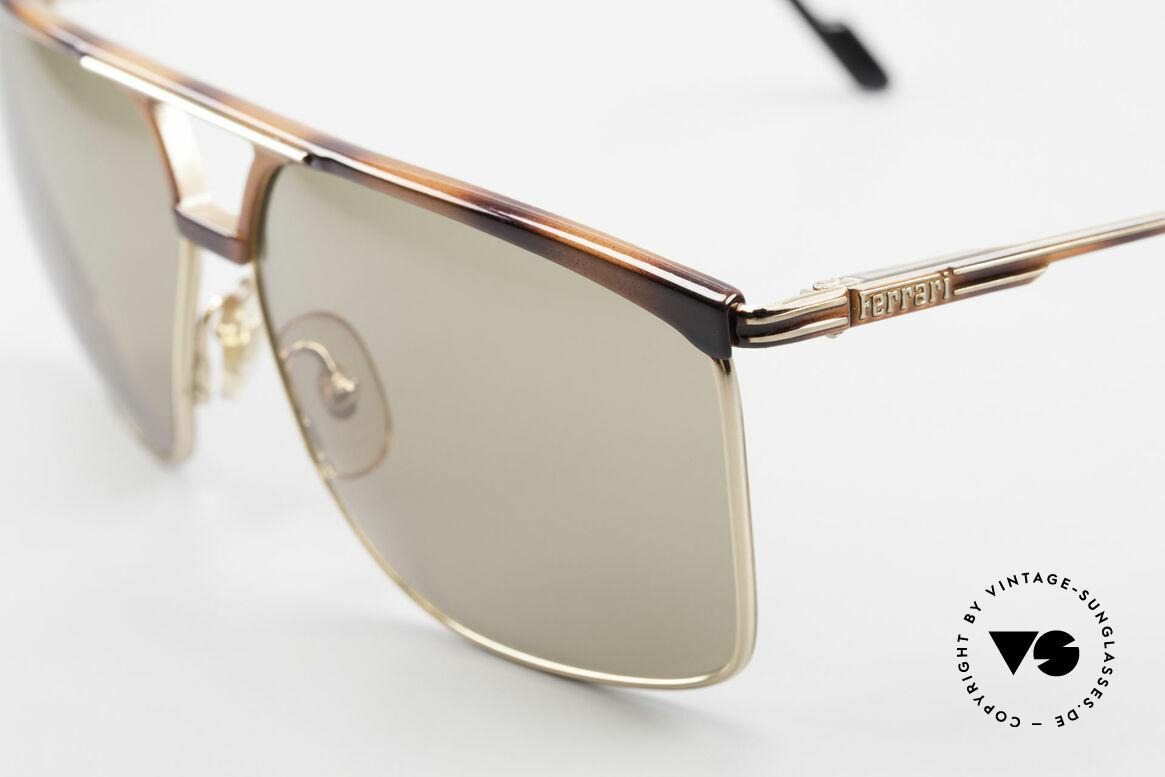 Ferrari F35 X-Large Sunglasses Alutanium, never worn (like all our RARE vintage Ferrari shades), Made for Men