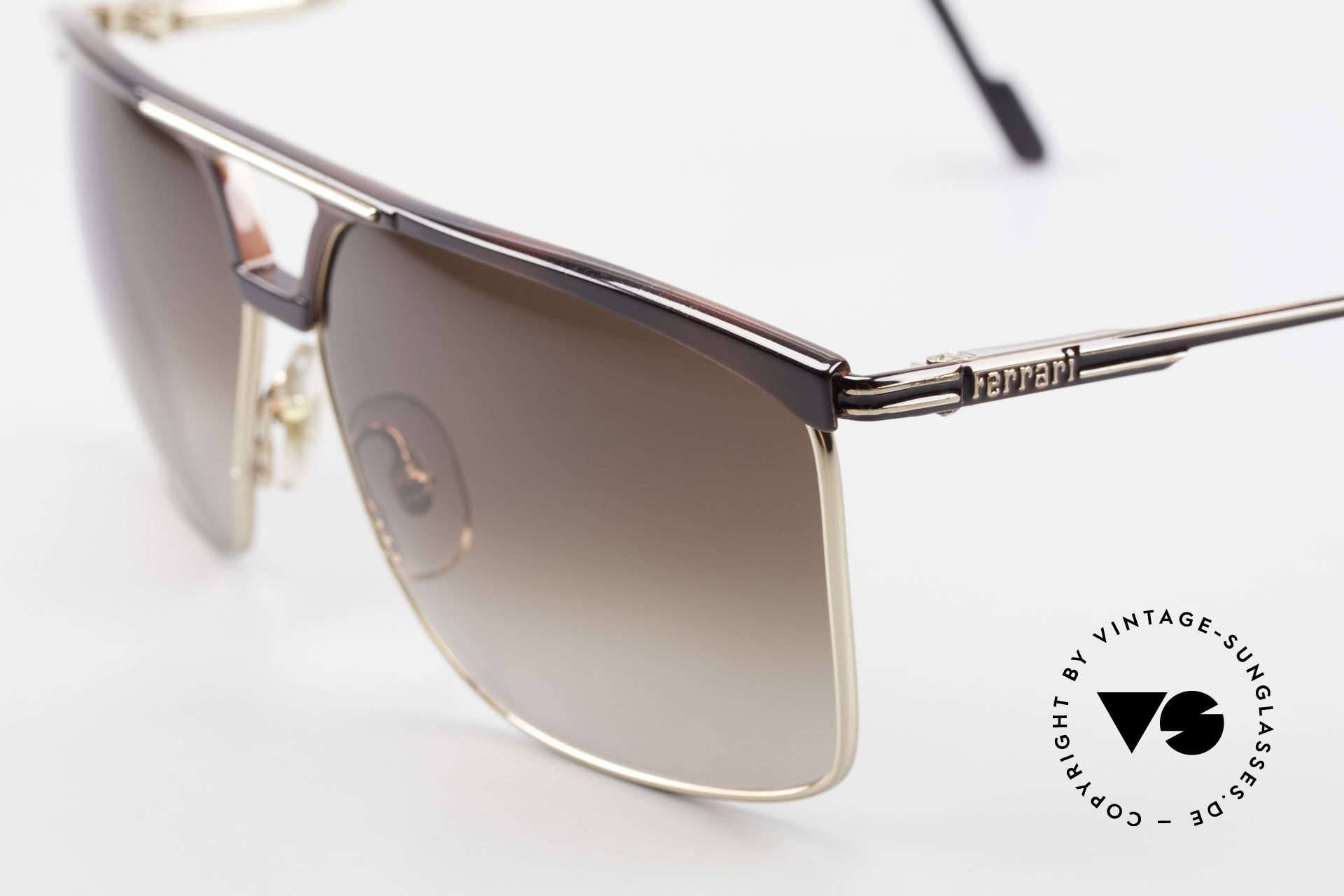 Ferrari F35 Formula 1 Sunglasses X-Large, never worn (like all our RARE vintage Ferrari shades), Made for Men