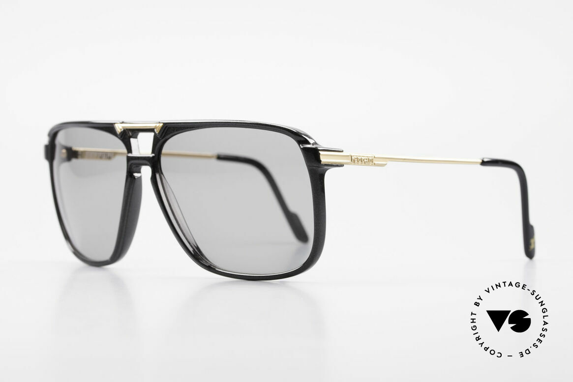 Ferrari F36/S Men's Carbon Sunglasses 90's, high-class carbon frame in 52mm height = large size, Made for Men
