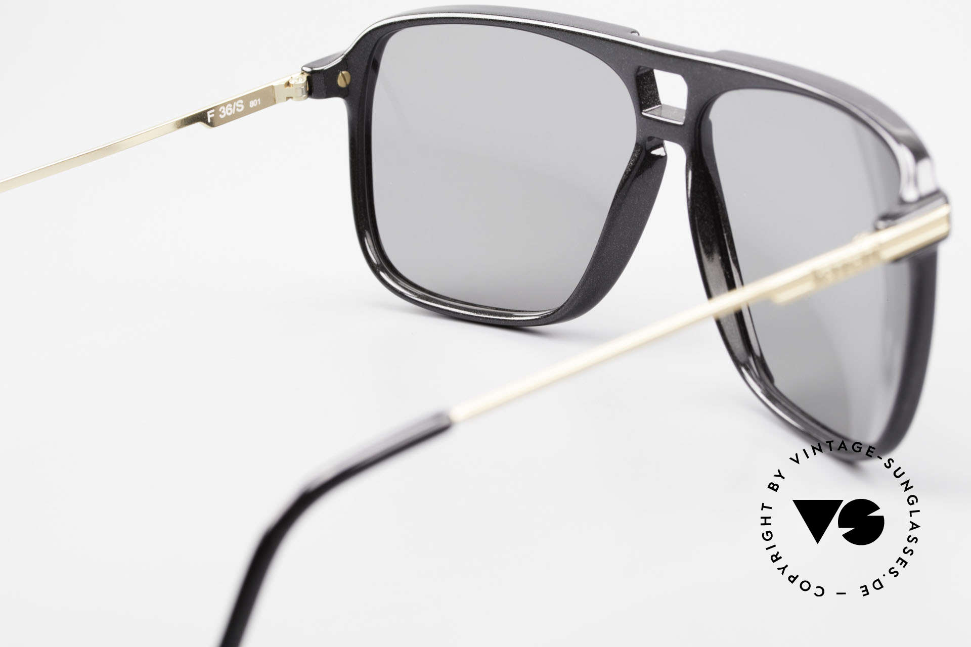 Ferrari F36/S Men's Carbon Sunglasses 90's, NO RETRO SHADES; but an old 1990's vintage rarity, Made for Men