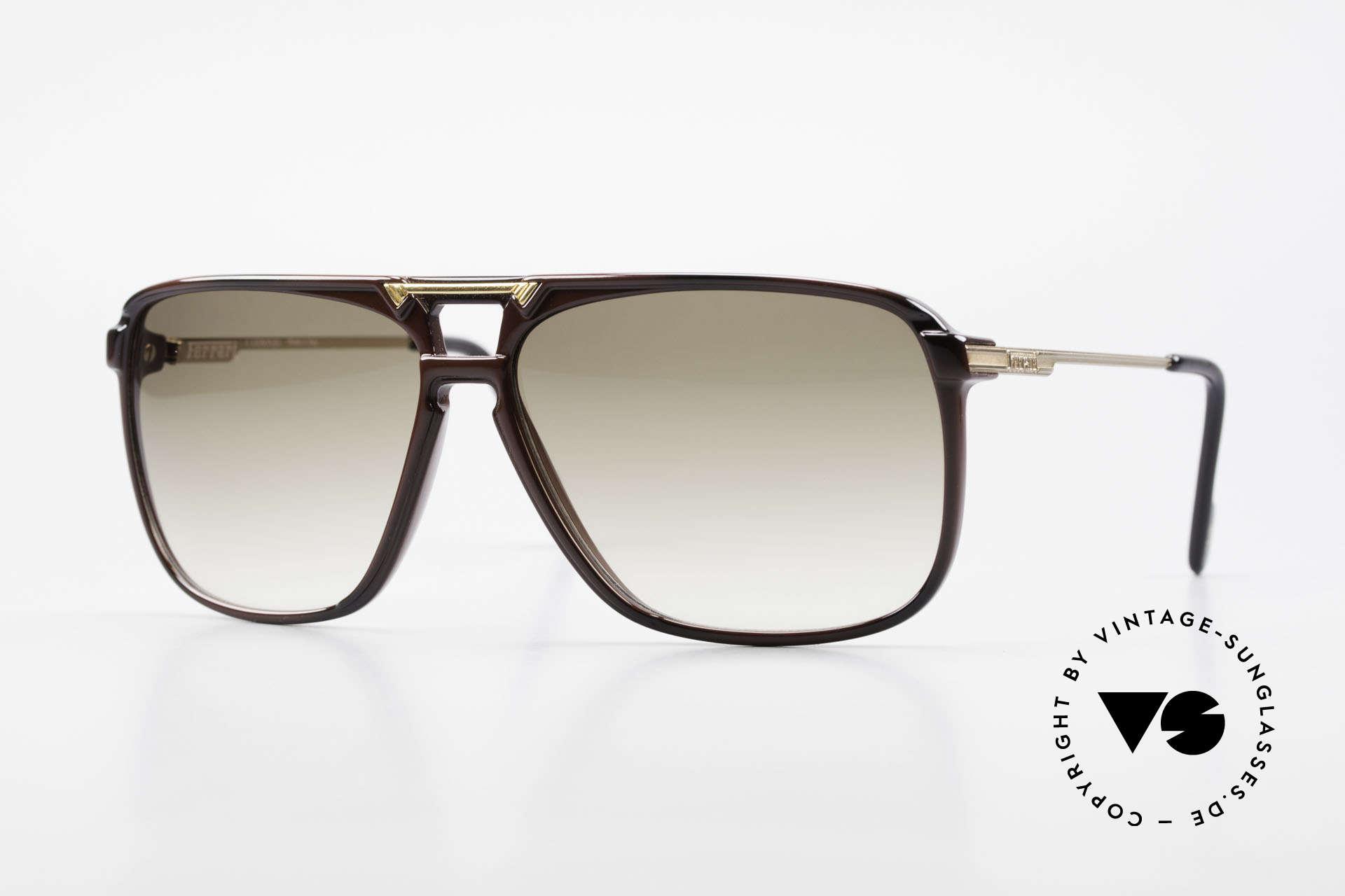 Ferrari F36/S 90's Men's Carbon Sunglasses, luxury carbon sunglasses by Ferrari from the 1990's, Made for Men