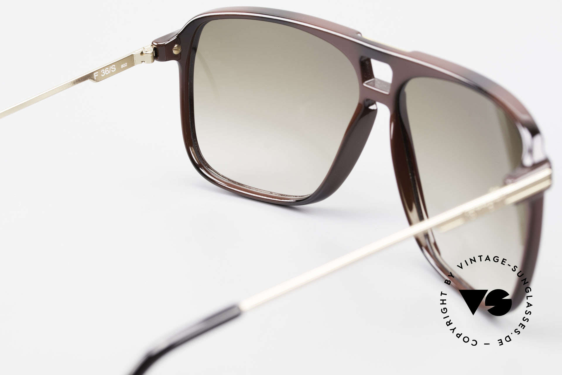 Ferrari F36/S 90's Men's Carbon Sunglasses, Size: large, Made for Men