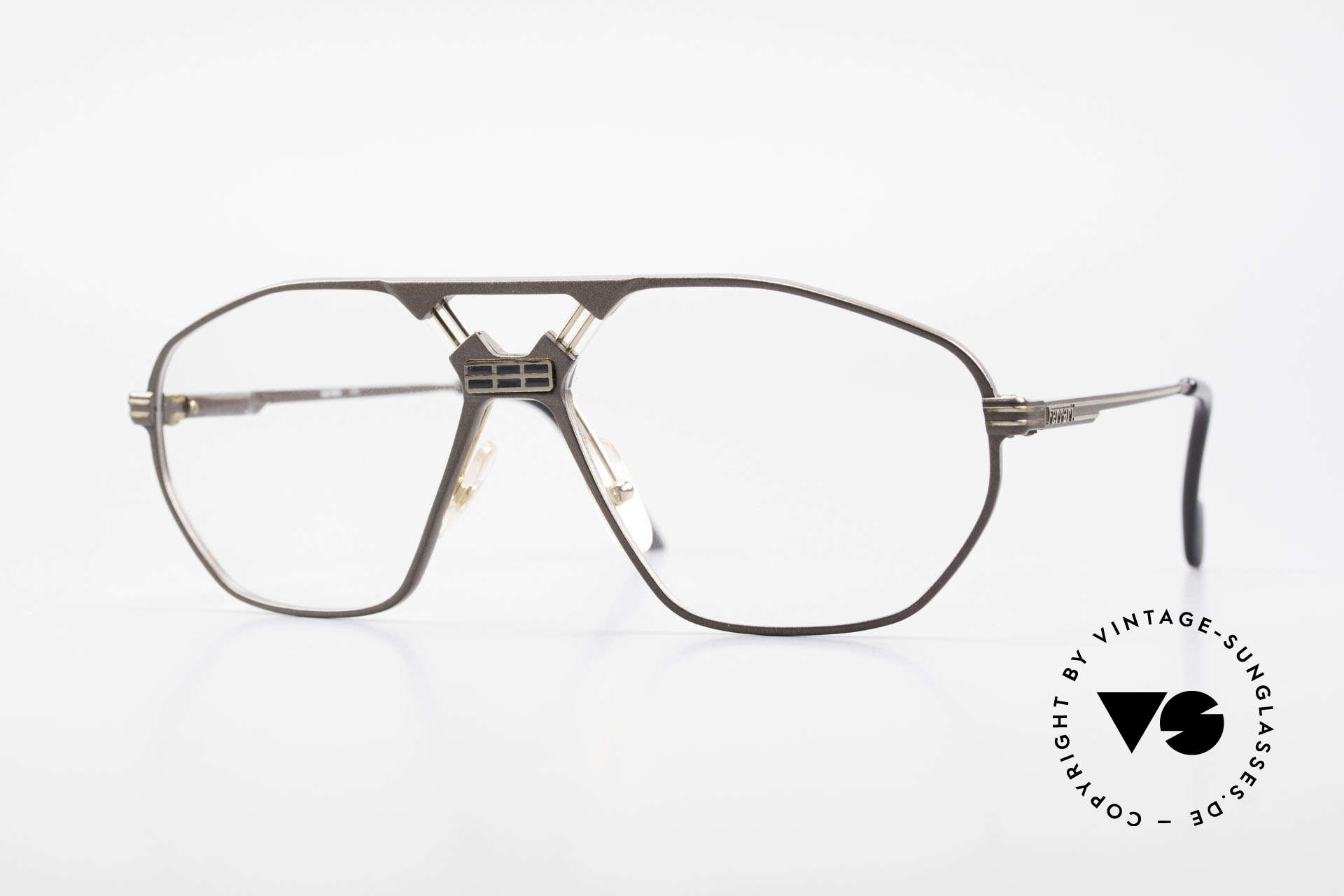 Ferrari F22 90's Formula 1 Vintage Glasses, luxury designer eyeglasses by Ferrari from 1992/93, Made for Men