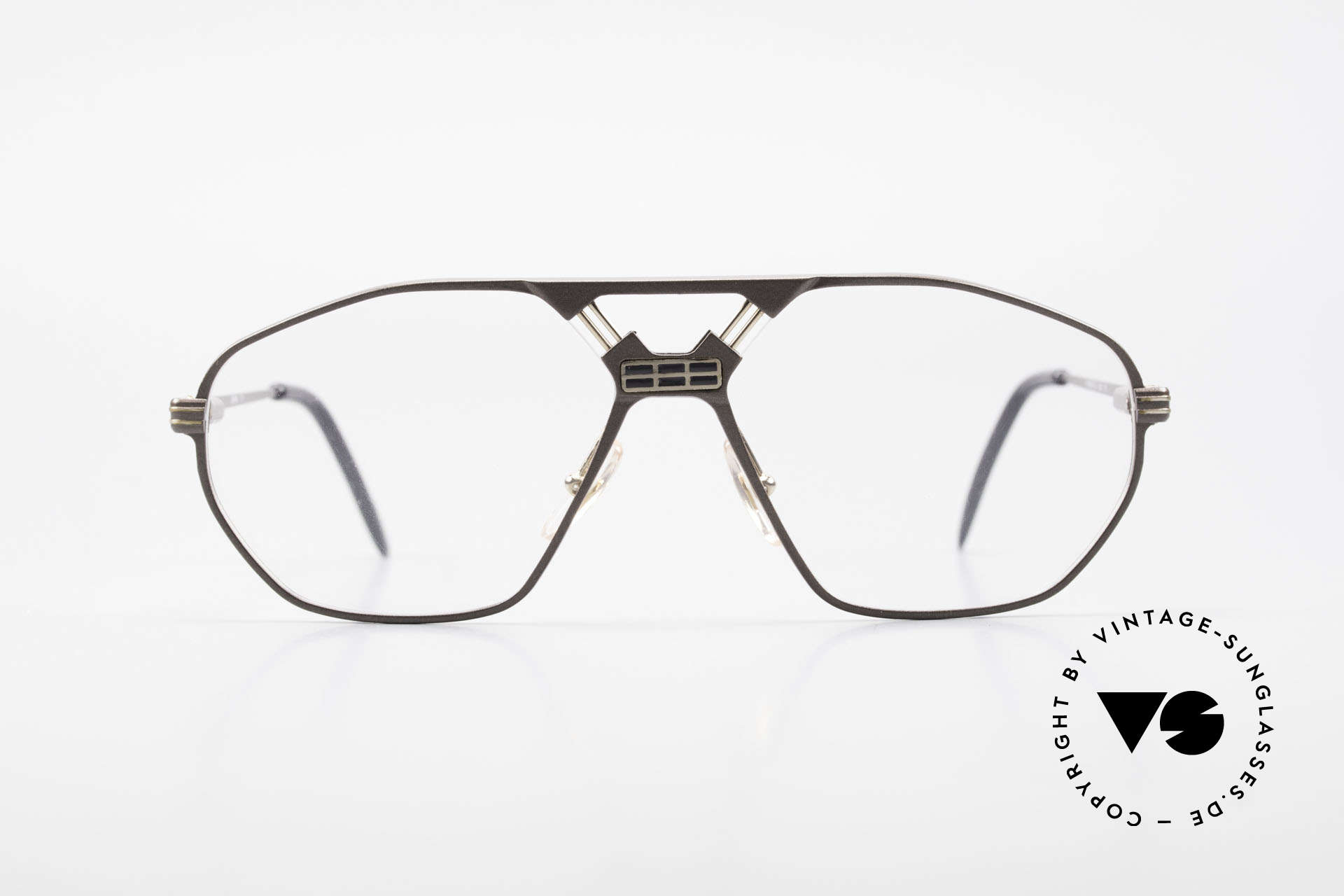 Ferrari F22 90's Formula 1 Vintage Glasses, striking frame construction (very interesting bridge), Made for Men