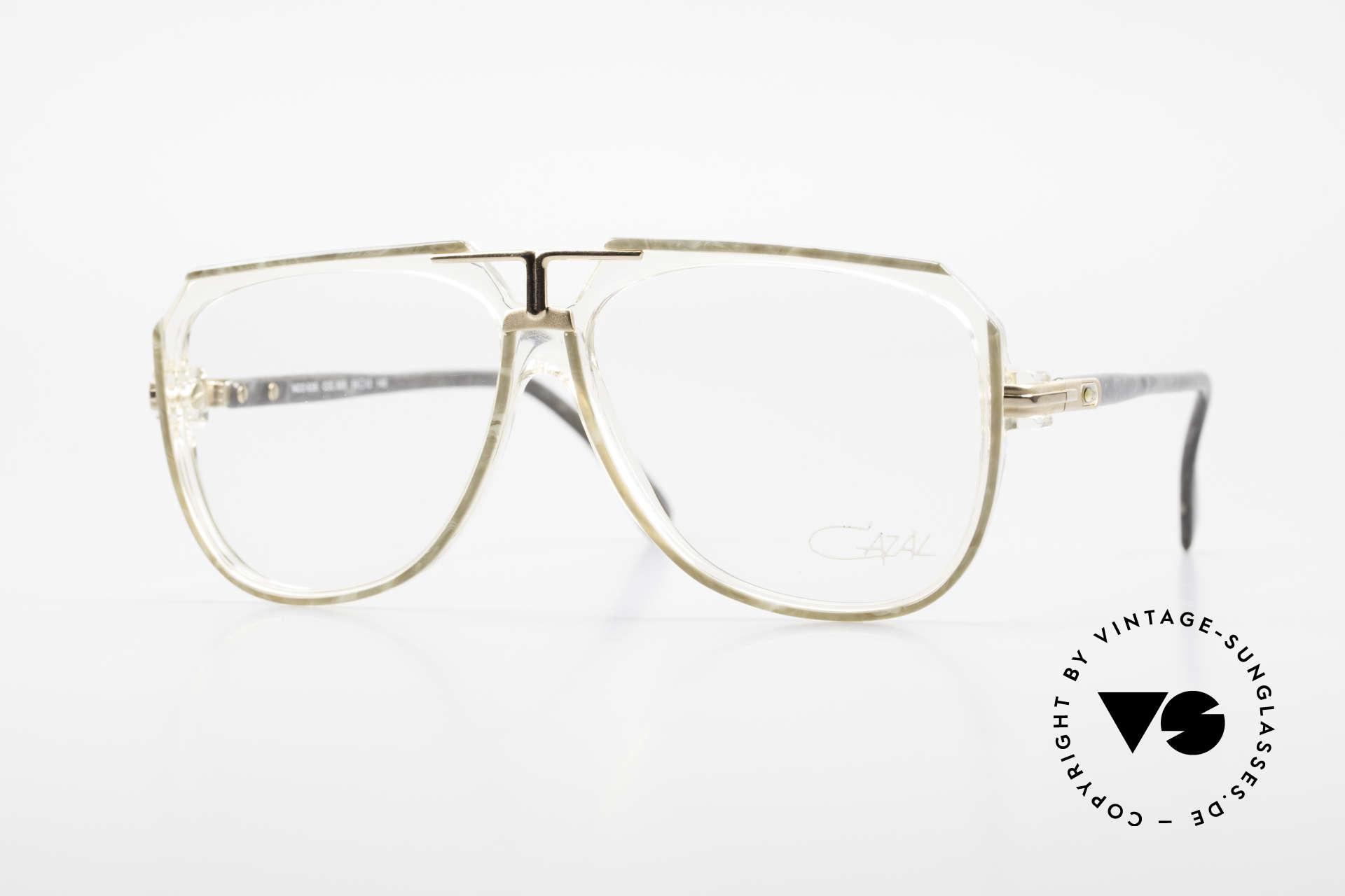 Cazal 636 Old West Germany 80's Cazal, vintage Cazal eyeglasses from app. 1986, Made for Men