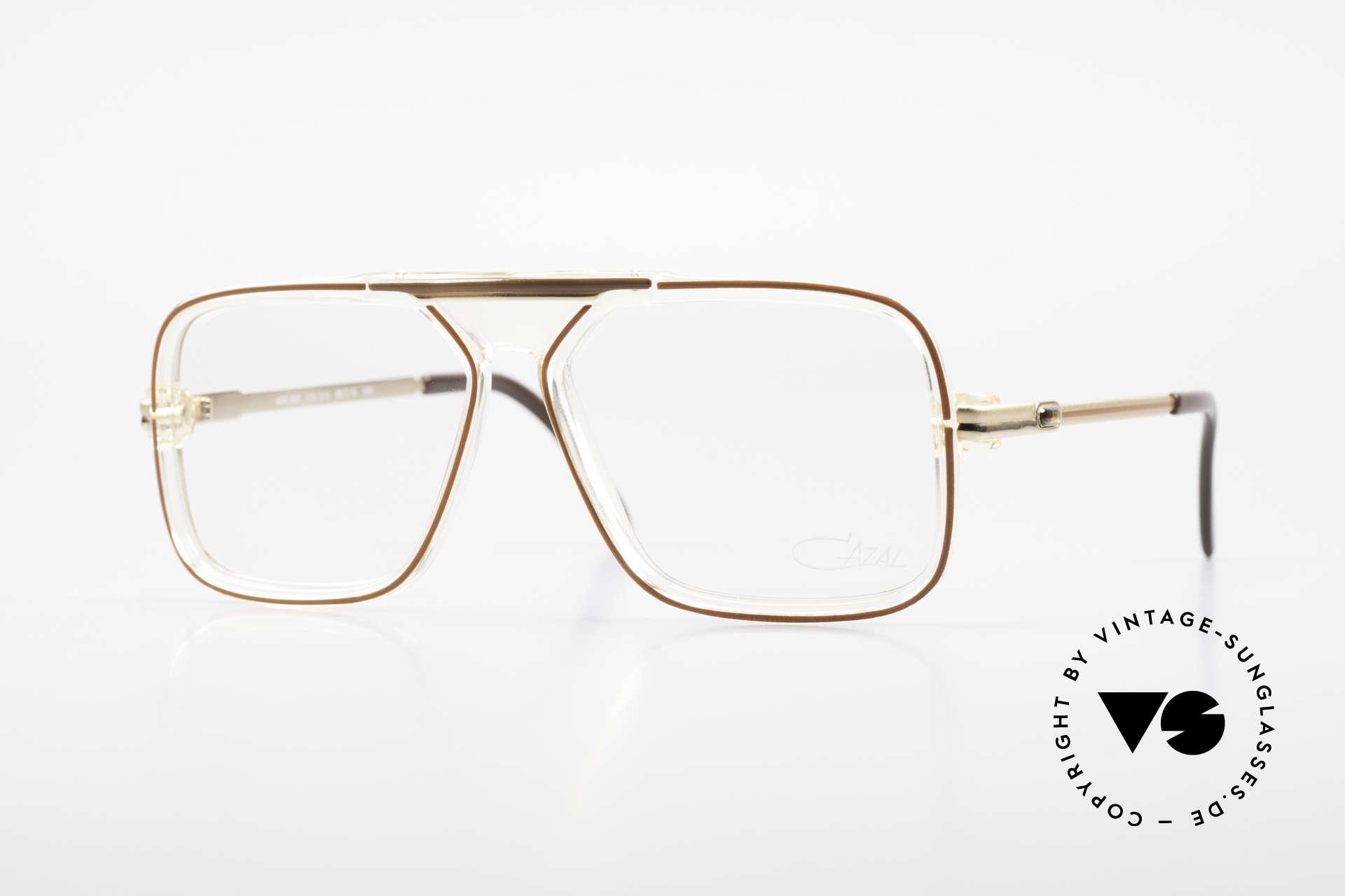 Cazal 630 Old 80's Hip Hop Cazal Glasses, legendary Cazal HipHop old school glasses, Made for Men