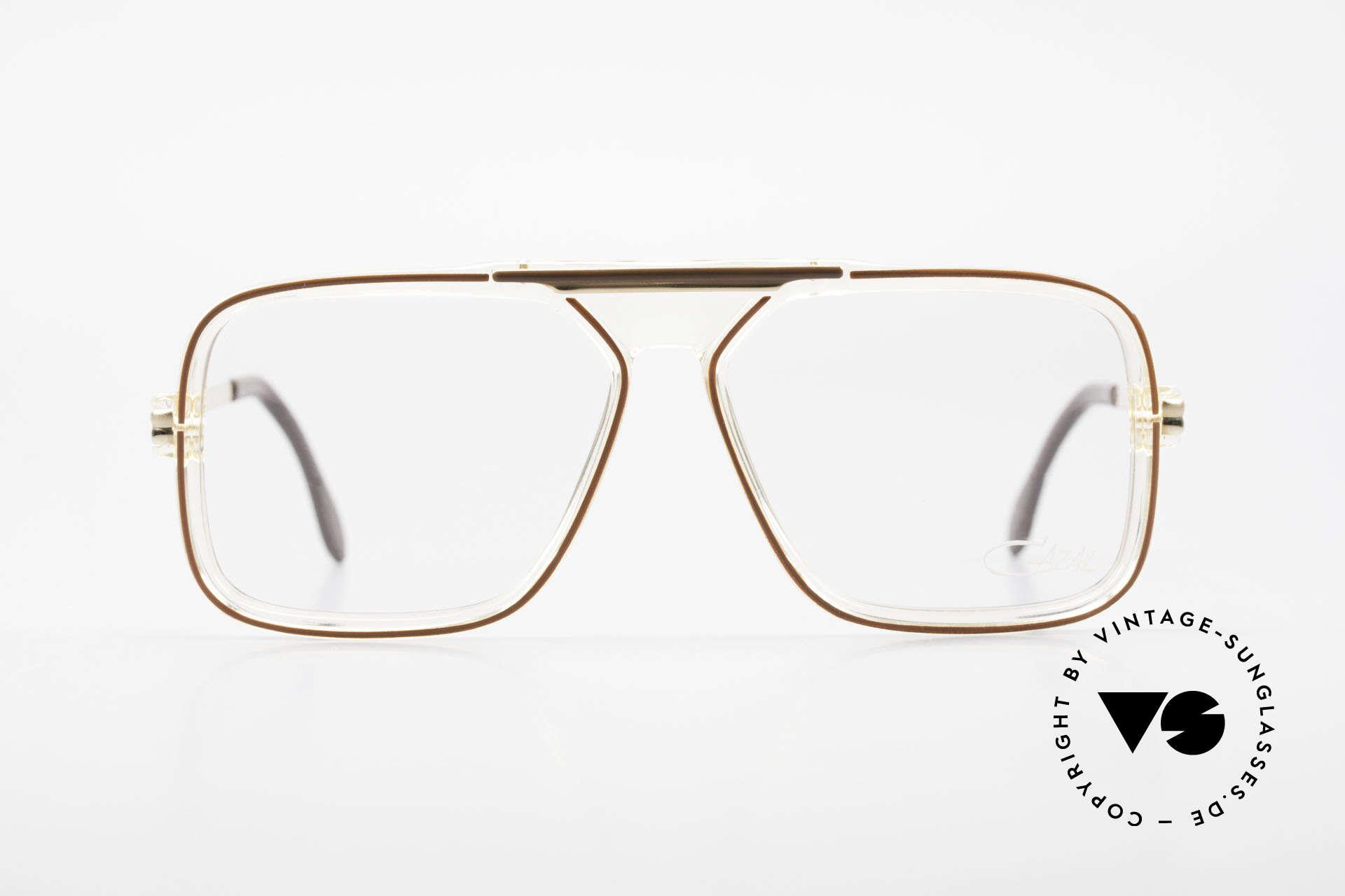 Cazal 630 Old 80's Hip Hop Cazal Glasses, designer eyeglasses of the 80's (W.Germany), Made for Men
