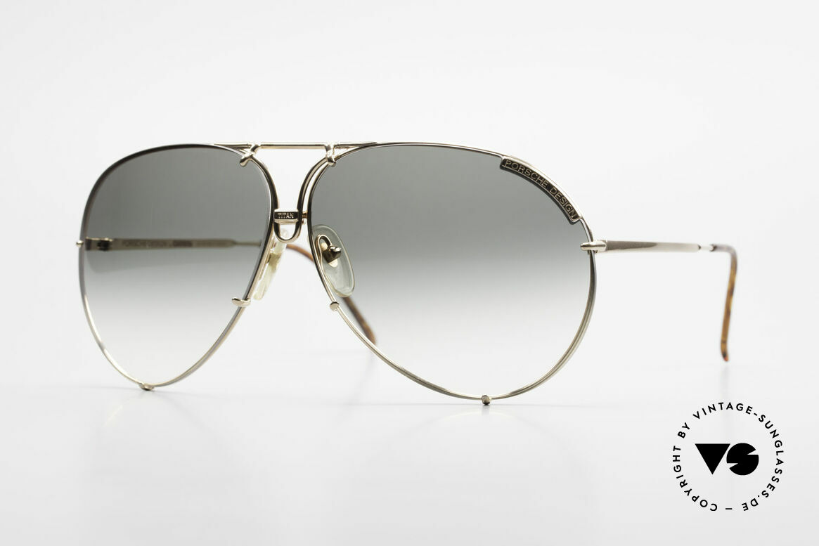 Porsche 5621 Rare Limited Titan Edition 80's, with interchangeable lenses and orig. hard case, Made for Men