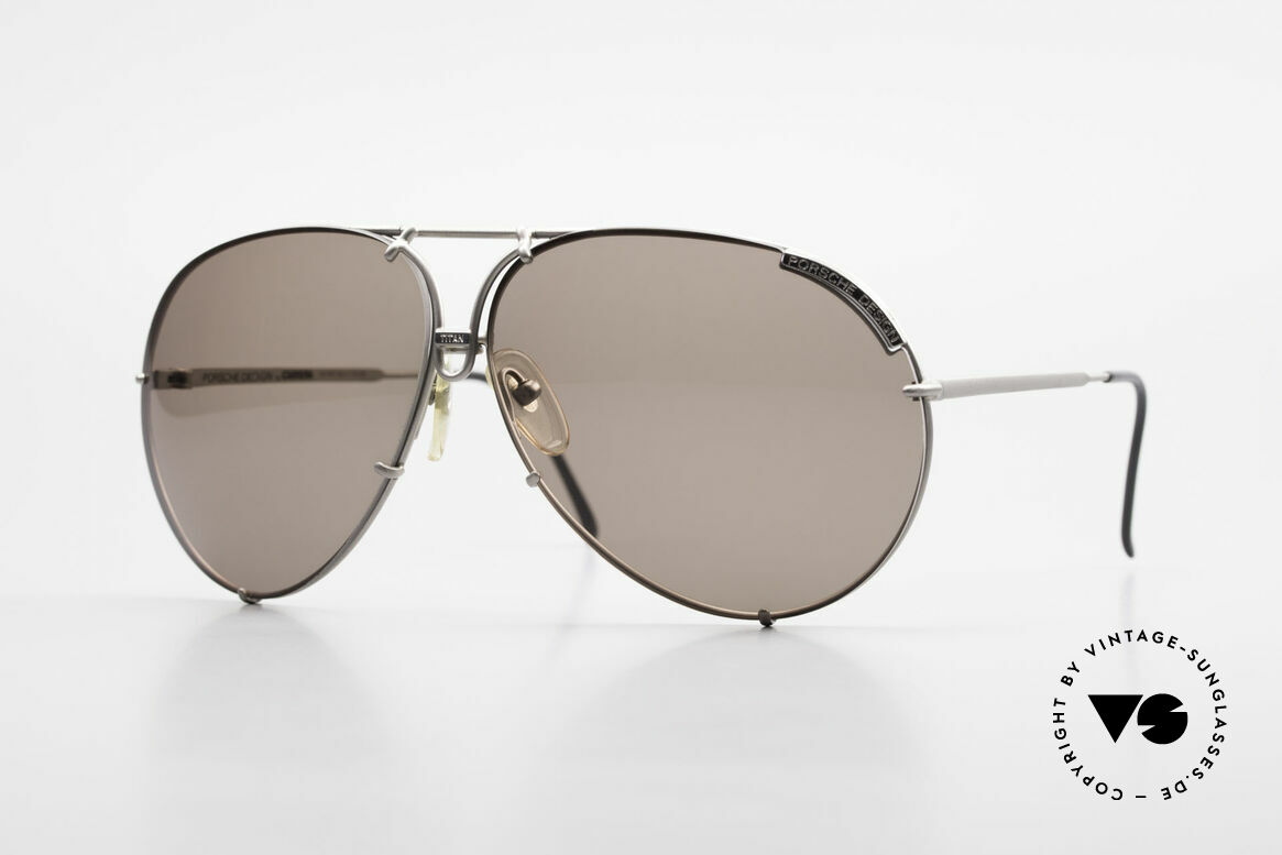 Porsche 5621 Limited Titan Edition 1980's, with interchangeable lenses and orig. hard case, Made for Men