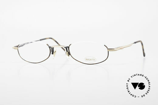 Bugatti 23687 High-Tech Men's Reading Frame Details