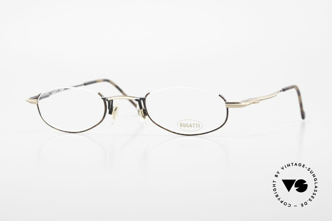 Bugatti 23687 High-Tech Men's Reading Frame, original, vintage reading eyeglass-frame by Bugatti, Made for Men