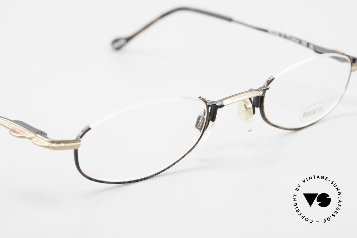 Bugatti 23687 High-Tech Men's Reading Frame, unworn (like all our rare vintage Bugatti eyeglasses), Made for Men