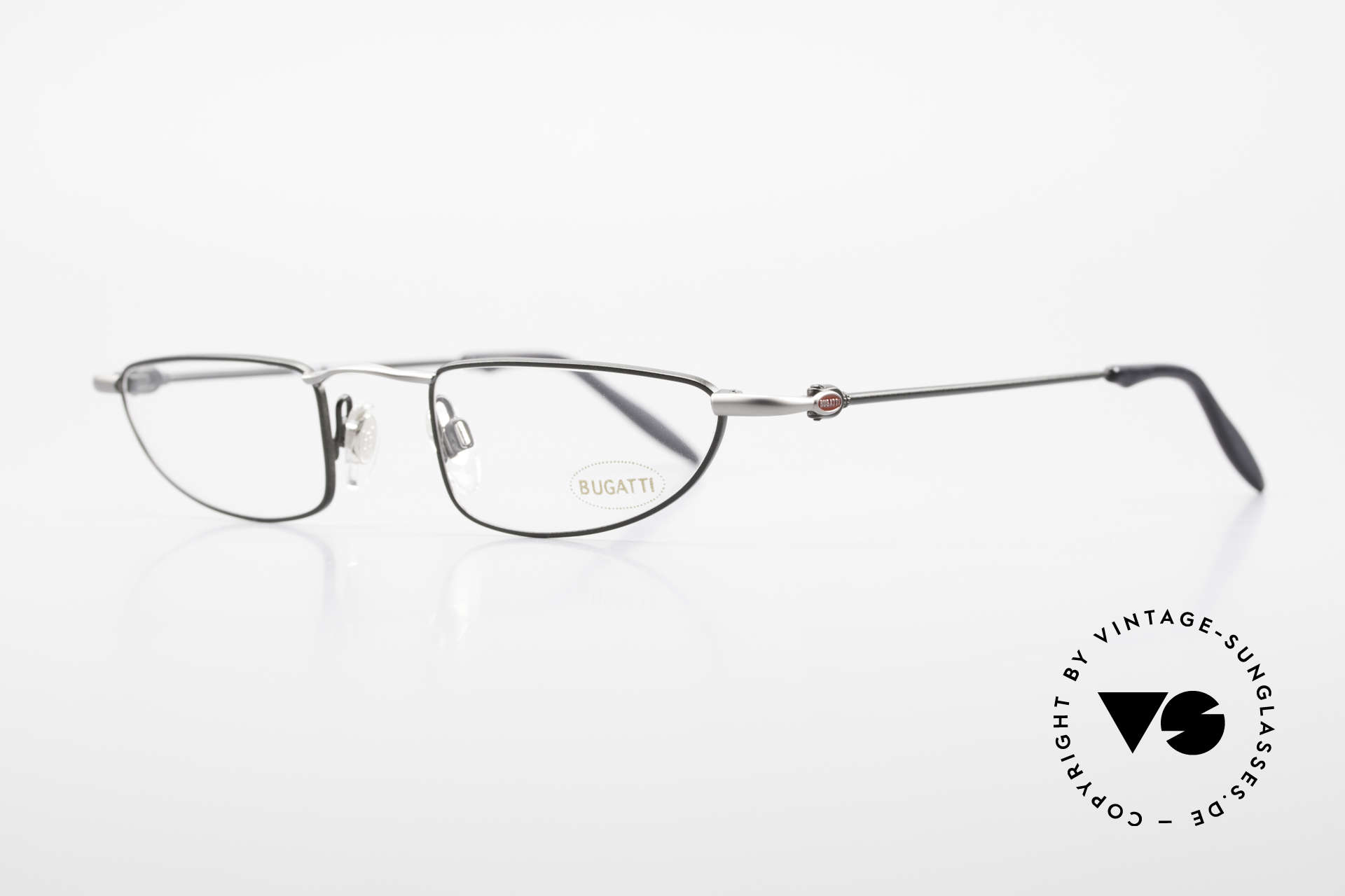 Bugatti 11729 Striking 90'S Reading Glasses, a noble ORIGINAL by Bugatti from the early 1990's, Made for Men