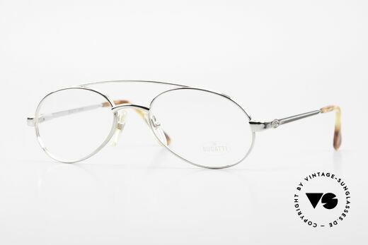 Bugatti 08104 Men's Vintage 80's Eyeglasses Details