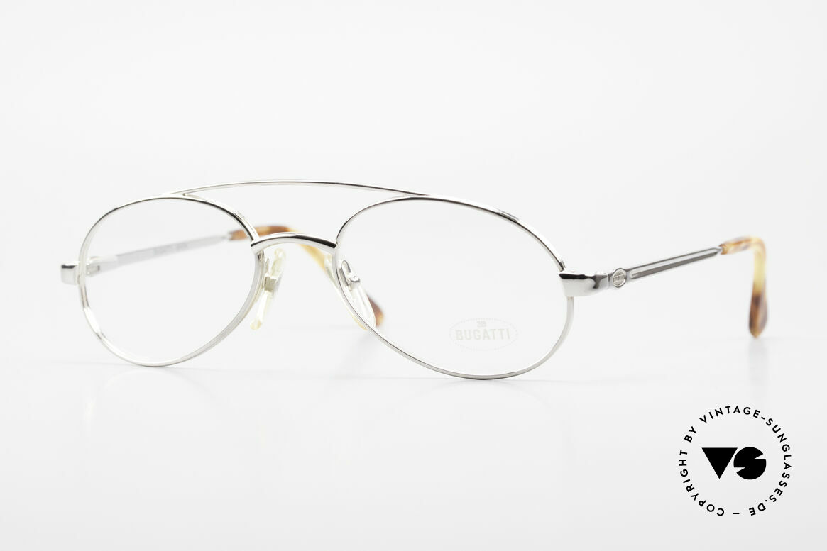 Bugatti 08104 Men's Vintage 80's Eyeglasses, classy & comfortable 80's eyeglasses by Bugatti, Made for Men