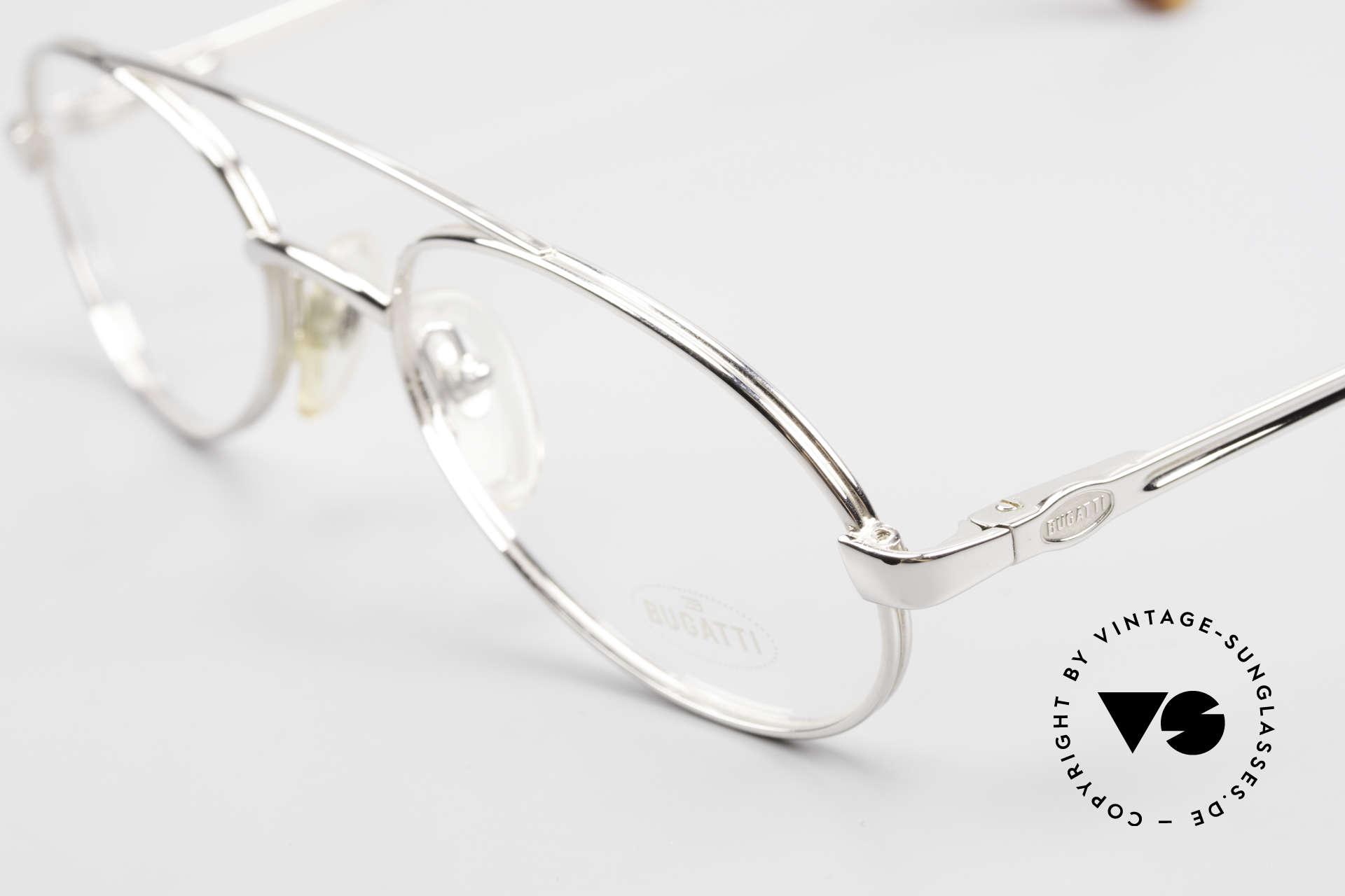 Bugatti 08104 Men's Vintage 80's Eyeglasses, still unworn (like all our vintage Bugatti eyewear), Made for Men
