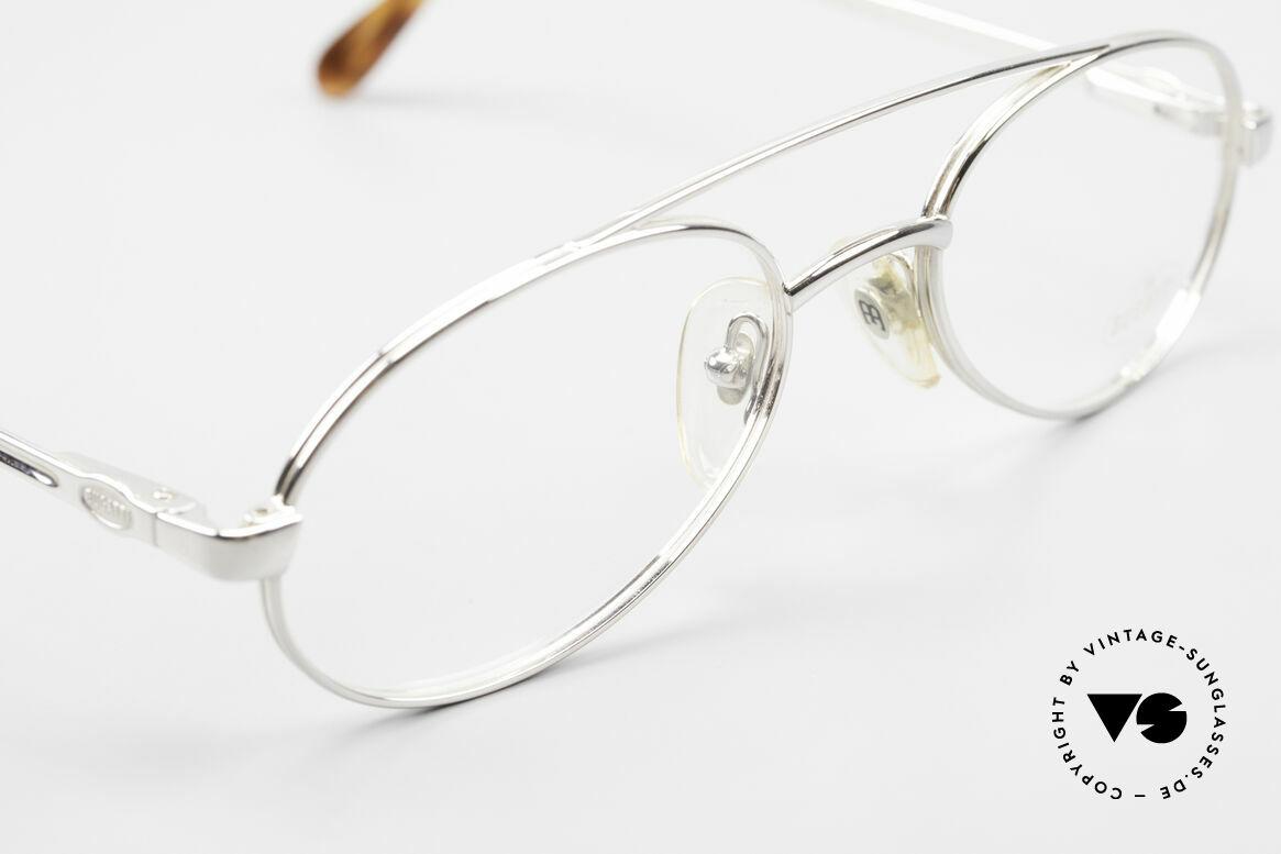 Bugatti 08104 Men's Vintage 80's Eyeglasses, NO RETRO frame, but a genuine eighties original, Made for Men