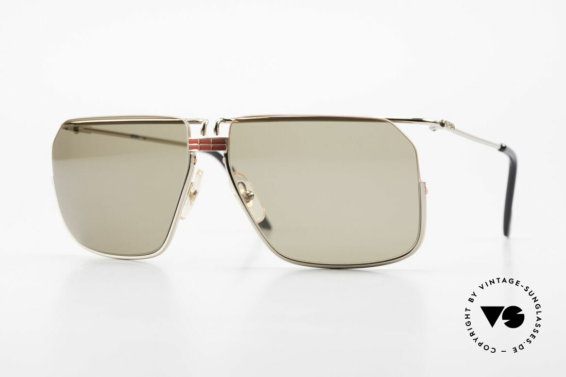 Ferrari F18/S No Retro Shades But Vintage, striking vintage sunglasses by FERRARI from the 1990's, Made for Men