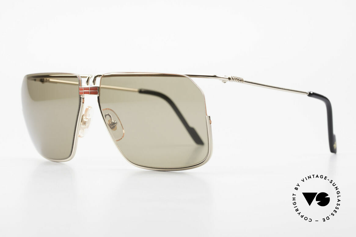 Ferrari F18/S No Retro Shades But Vintage, finest quality (100% UV) & superior materials from Italy, Made for Men