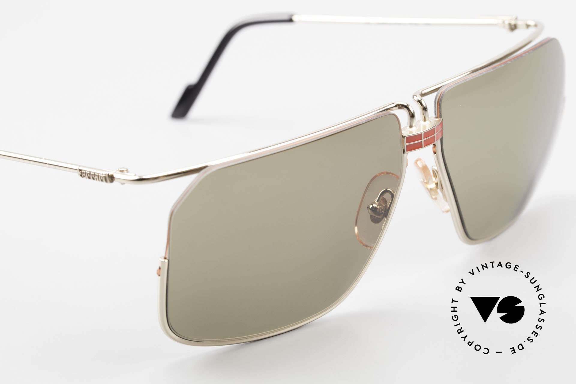 Ferrari F18/S No Retro Shades But Vintage, NO RETRO sunglasses, an old ORIGINAL from the 1990's!, Made for Men