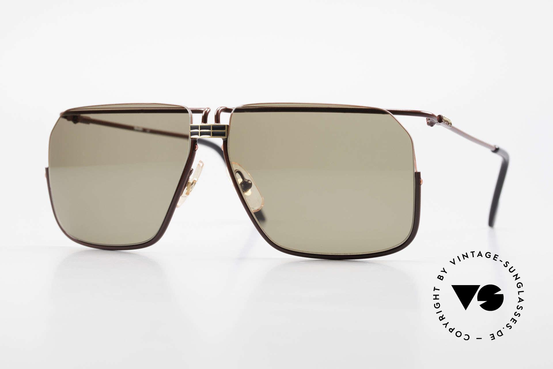 Ferrari F18/S Ferrari Formula 1 Sunglasses, striking vintage sunglasses by FERRARI from the 1990's, Made for Men